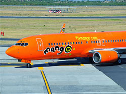 Mango's fleet is online with G-Connect In-Flight Wi-Fi service