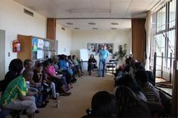 Childline Gauteng Crisis Line Agents receiving training