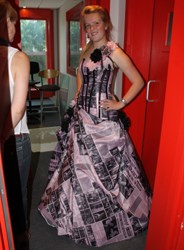 OFM listener wears most talked-about gown to matric farewell