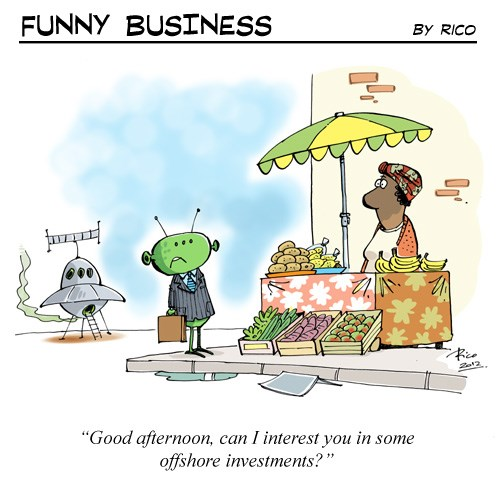 [Funny Business] Alien