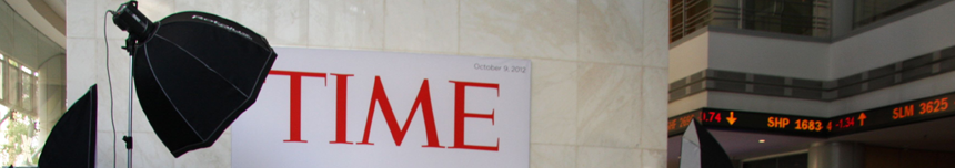 On the cover of Time Magazine