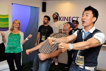 The Microsoft Kinect in action - NATIVE VML