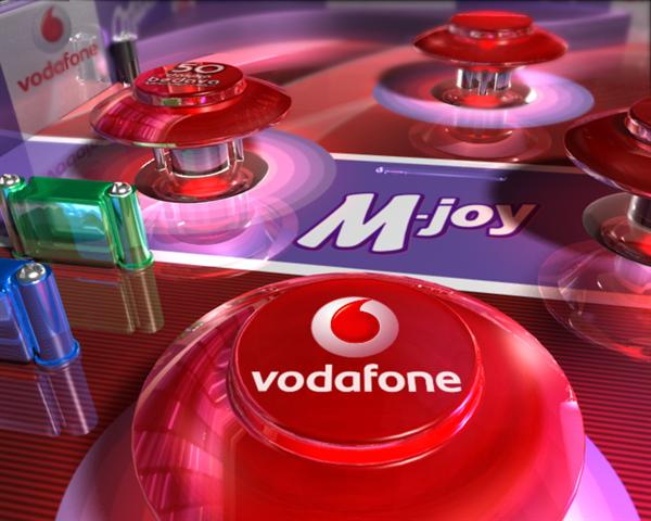 Vodafone & Milka co-promo TV Commercial 3D