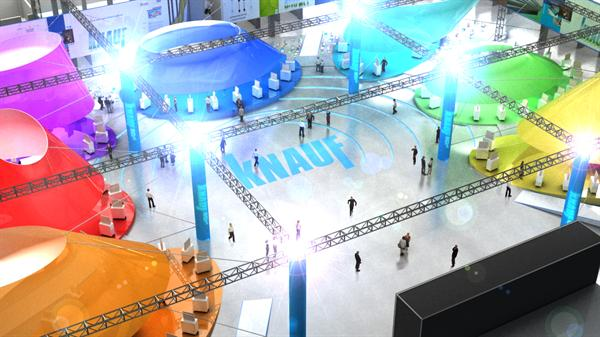 Knauf Expo 3D Visualization Animation
