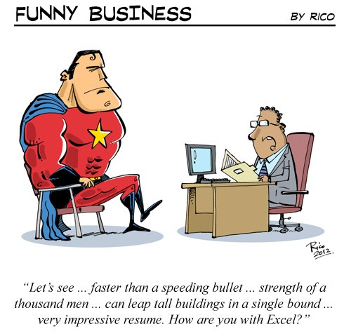 [Funny Business] Superhero
