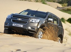 The Trailblazer is not only a rough and tough dirt player - it behaves like a true gentleman on the tar.