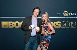 Dallas du Toit and Paula Hulley from Gloo at Bookmarks 2012 - Gloo