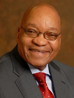"Zuma's ""home, sweet home"" is not, apparently, a homestead... (Image: GCIS)"