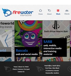 Firewater Interactive rebrands: New logo. New website.