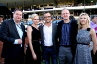 Bob Yearham, Princess Charlene, Oscar Pistorius, Anthony Puttergill and his wife Tracey.