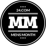 24.com dedicates an entire month to men with Men24 - 24.com