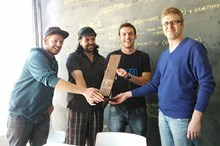 MediaMind Floating Trophy awarded to Ogilvy Interactive Cape Town