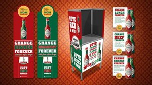 Volcano launches the Tabasco 'Campaign for Change' and invites fans to vote for their favourite