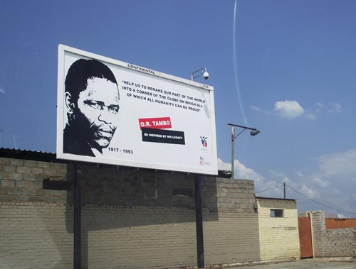 'Politricks' on Joburg township billboards