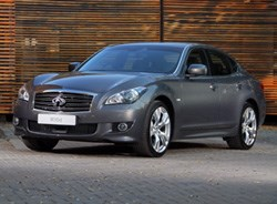 Infiniti styling certainly sets the brand apart from the rest.