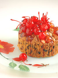 Easy fruit cake - fruity, boozy and ready for Christmas!