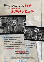 Saturday's Soweto Derby features Nando's magic mirror