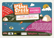 Buy a ticket in December to enter the Up the Creek competition