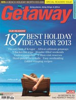 Online readers provide holiday ideas for  Getaway's January issue