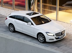 The new Mercedes Benz CLS Shooting Brake is not one for Rover or the garden refuse.