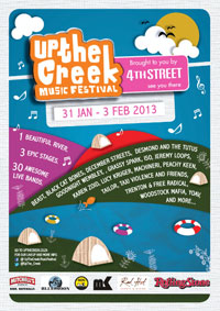 2013 Up the Creek line-up announced