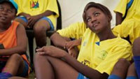 The organisation conducts workshops that combine life skills training and football at a grassroots level, to empower girls between the ages of nine and 18. (Images: Girls and Football South Africa)