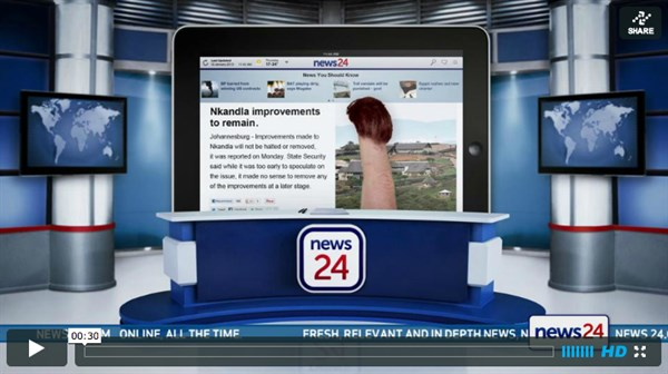 News24: News at your fingertips