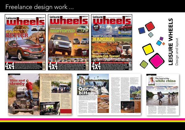 LEISURE WHEELS MAGAZINE DESIGN