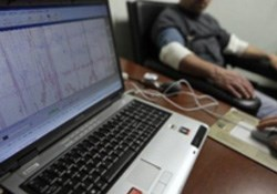 An employee successfully undertaking a pre-employment polygraph examination. (Image: Sourced from the Justicia website)