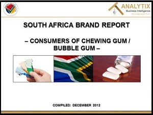 Chewing gum sustaining growth in SA gum market