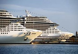 MSC Fantasia and MSC Splendida.