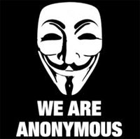 Anonymous briefly disables US government site