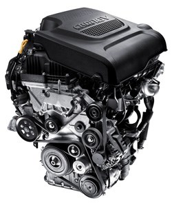 The 2.2-litre turbodiesel engine gives the vehicle a peppy performance.