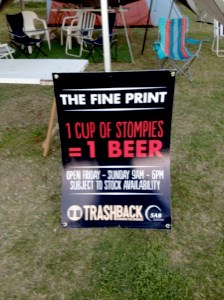 """Trashback"" beer for stompies swap Source:"