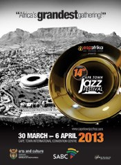 Sensational list of artists announced for 2013 Cape Town International Jazz Festival