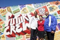 Future Crew mural inspires Lavender Hill Senior Secondary