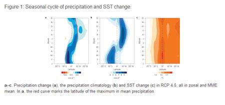 Global warming affects seasonal rainfall patterns - study