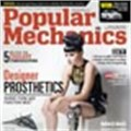 Designer prosthesis featured on Popular Mechanics cover