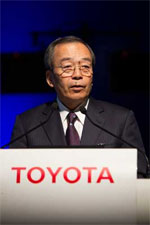 Toyota Motor Corporation (TMC) executive, Takeshi Uchiyamada