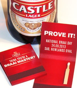 National Braai Day event – match boxes