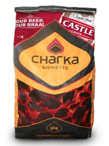 Charka & Castle Lager co-branded pack