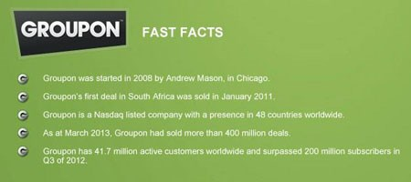 In the Zone with MWEB Entrepreneur: Groupon SA