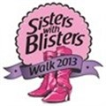 Record attendance at this year's Sisters with Blisters walk