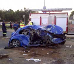 Road accidents killed at least 1,537 people over the festive season. Image: Road Safety