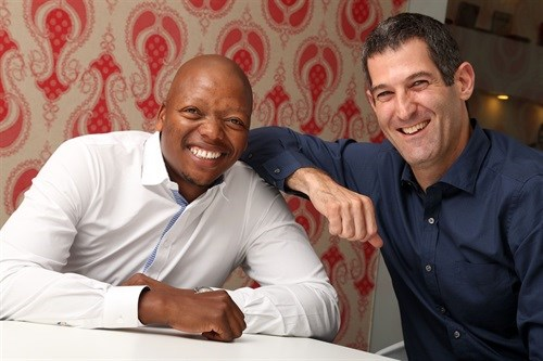 Left to right - Mohale Ralebitso Group Chairman and Brett Morris Group Chief Executive Officer- Draftfcb South Africa