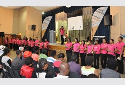 UCKG's Women in Action participate in World Cancer Day