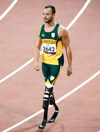 Oscar Pistorius. (Image: Chris Eason, via Wikimedia Commons)