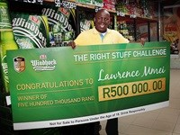 Hillbrow policeman wins 'Right Stuff Challenge' and R500,000