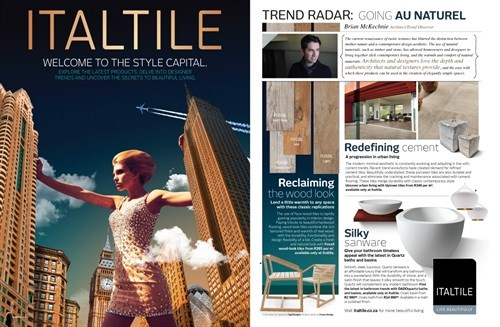 To connect strategically with its market, Italtile didn't place an ad