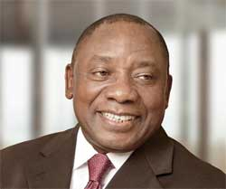 Cyril Ramaphosa says bursaries should not be capped. Image: Swing Top Circle